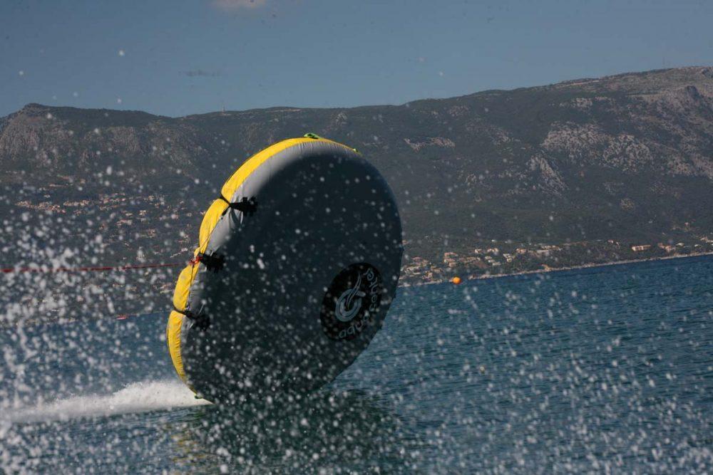corfu ski clu watersports inflatable rides 03
