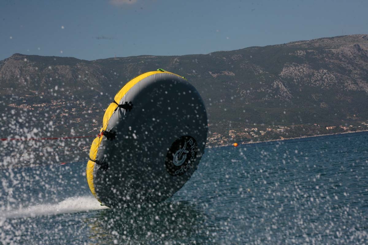 corfu ski clu watersports inflatable rides 03