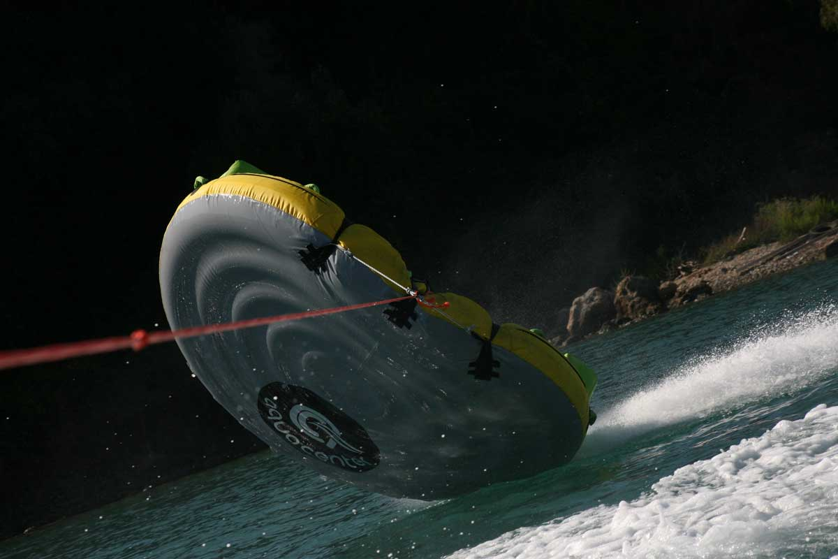corfu ski clu watersports inflatable rides 04