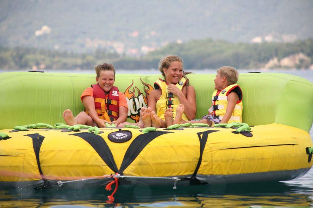 corfu ski clu watersports inflatable rides 05