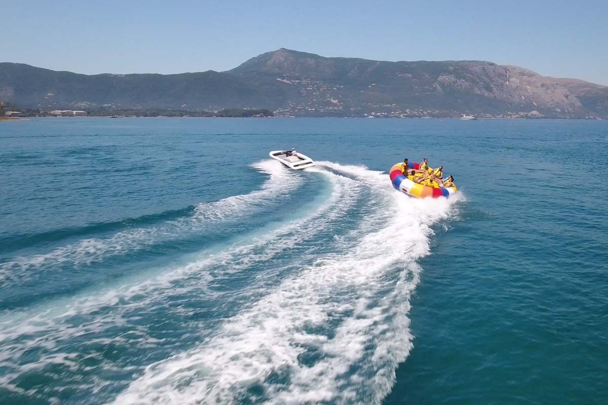 corfu ski clu watersports inflatable rides 06