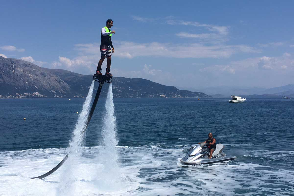 corfu ski club flyboard