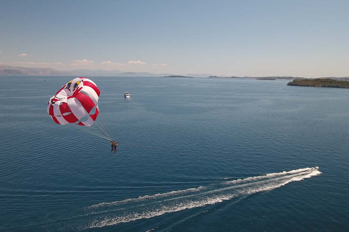 corfu ski club watersports and paragliding 02