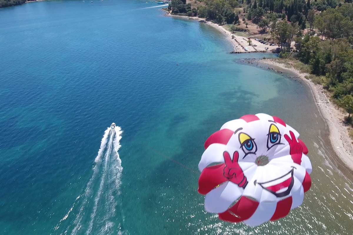 corfu ski club watersports and paragliding 04