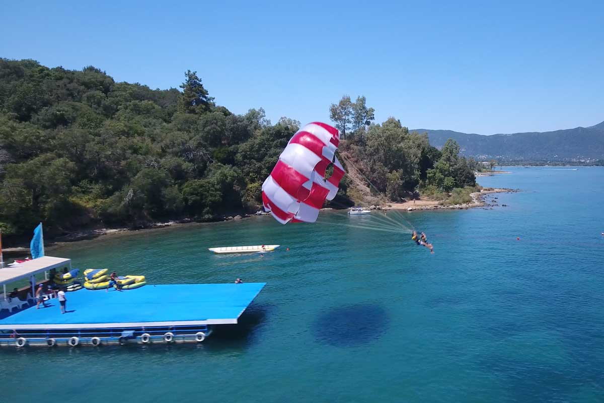 corfu ski club watersports and paragliding 05