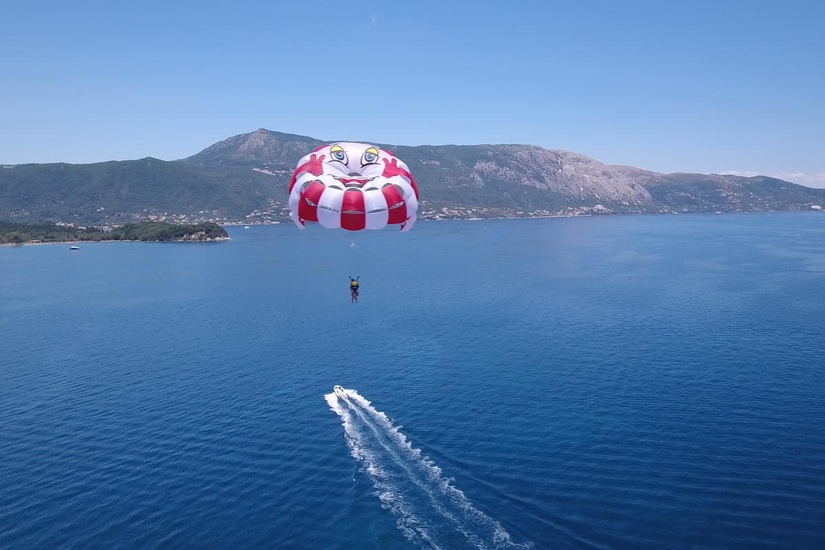 corfu ski club watersports and paragliding 06