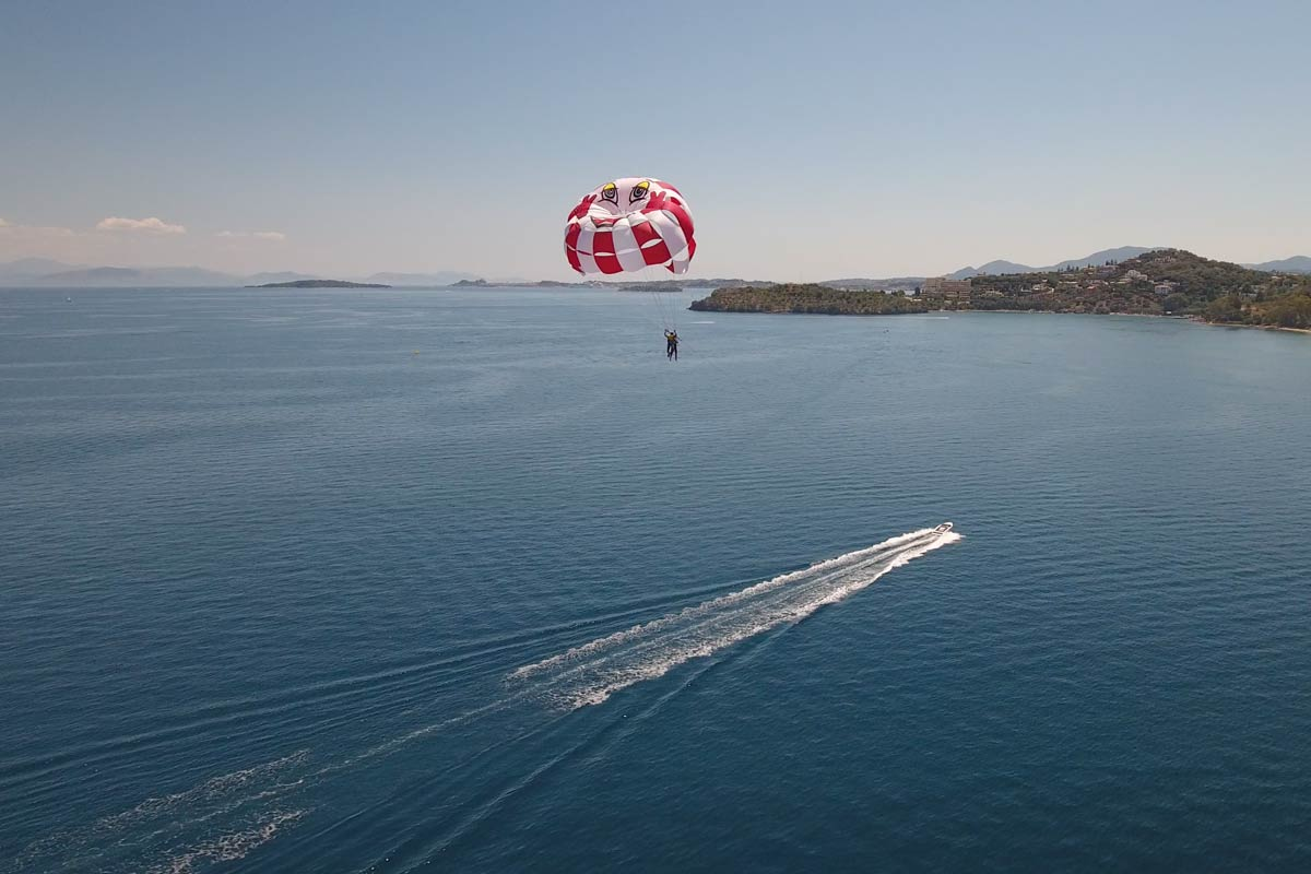 corfu ski club watersports and paragliding 08