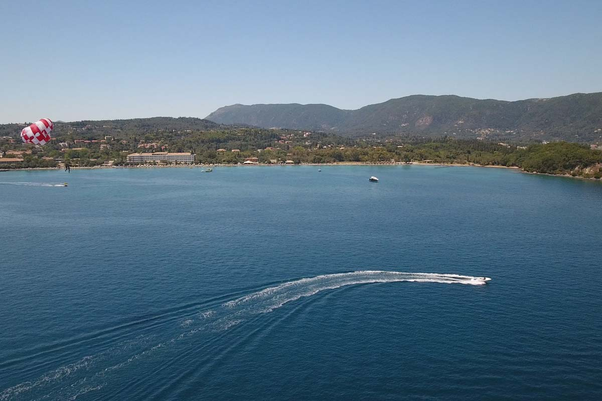 corfu ski club watersports and paragliding