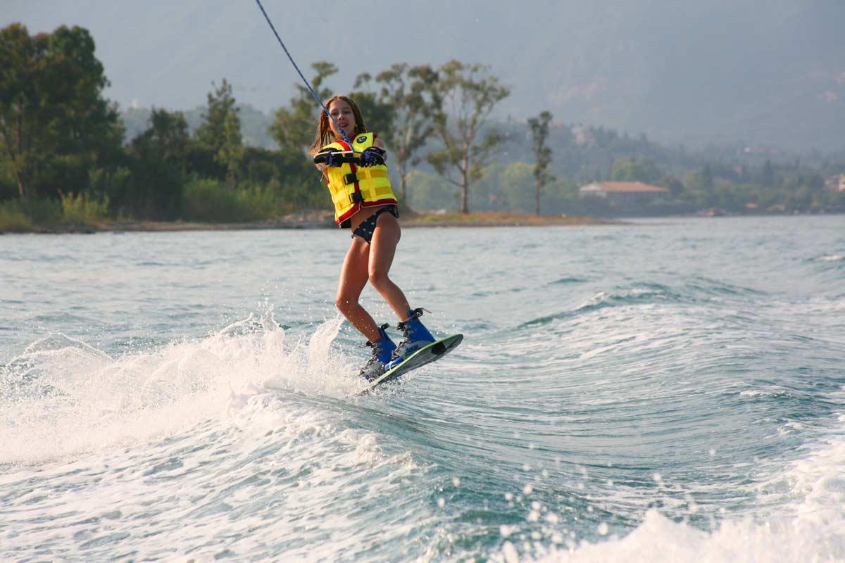 corfu ski club watersports wakeboard