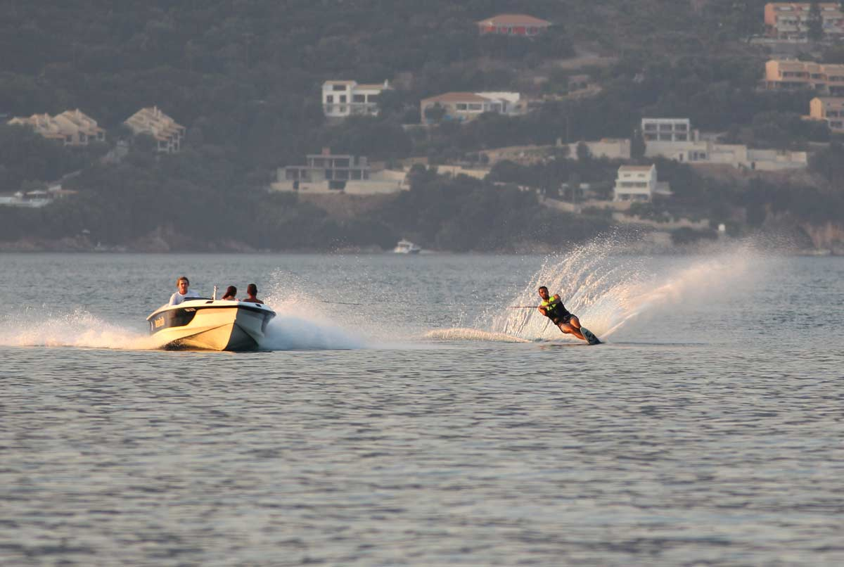 corfu ski club watersports water ski 05