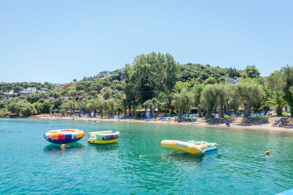 watersports in corfu ski club